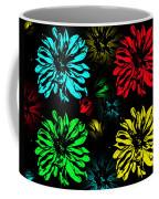 Floral Pop Art Coffee Mug