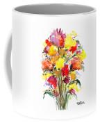 Floral Seven Coffee Mug