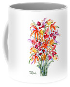 Floral Six Coffee Mug
