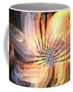 Floral Supernova Coffee Mug