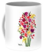 Floral Three Coffee Mug