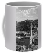 Florence - Black And White Coffee Mug