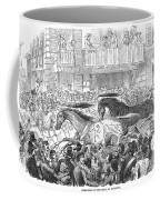 Florence: Horse Race, 1857 Coffee Mug