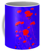 Flourescent Florals Coffee Mug