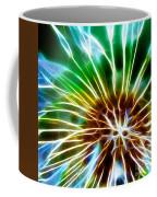 Flower - Dandelion Tears - Abstract Coffee Mug