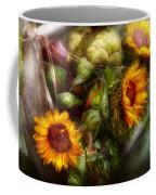 Flower - Sunflower - Gardeners Toolbox  Coffee Mug