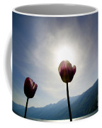 Flower And Sun Coffee Mug