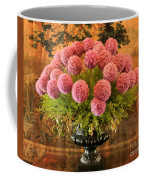 Flower Arrangement Chateau Chenonceau Coffee Mug