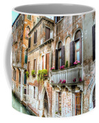 Flower Balcony Coffee Mug