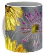 Flower Blossoms Under Ice Coffee Mug