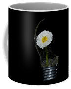 Flower Growing Inside A Lamp Coffee Mug