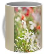 Flower Meadow Coffee Mug by Elena Elisseeva