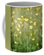 Flower Of A Buttercup In A Sea Of Yellow Flowers Coffee Mug
