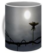 Flower On The Fence Coffee Mug