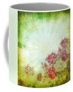 Flower Pattern On Paper Coffee Mug by Setsiri Silapasuwanchai