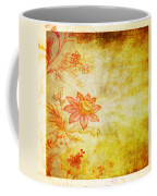 Flower Pattern Coffee Mug by Setsiri Silapasuwanchai