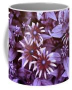 Flower Rudbeckia Fulgida In Uv Light Coffee Mug by Ted Kinsman