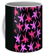 Flower Stars  Coffee Mug by Louisa Knight