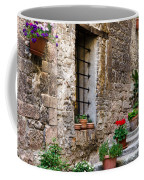 Flowered Stairway Coffee Mug