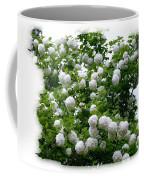 Flowering Snowball Shrub Coffee Mug