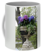 Flowerpot With Hydrangea Coffee Mug