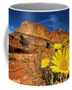 Flowers And Buttes Coffee Mug