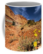 Flowers And Canyons Coffee Mug
