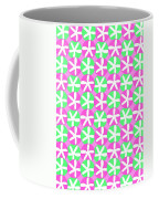 Flowers And Spots  Coffee Mug by Louisa Knight