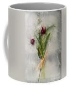 Flowers Frozen In Ice Coffee Mug