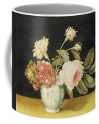 Flowers In A Delft Jar  Coffee Mug