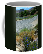 Flowers In The Gold Hill Desert Coffee Mug