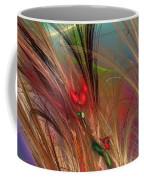 Flowers In The Grass Coffee Mug