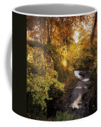 Flowing Water Through A Forest Coffee Mug