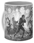 Fluid Lamp Explosion, 1868 Coffee Mug by Granger