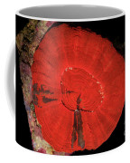 Fluorescent Coral In White Light Coffee Mug