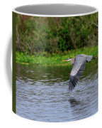 Flying Across The St Johns Coffee Mug