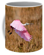 Flying Across The Wetlands Coffee Mug