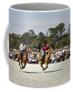 Flying At The Marsh Tacky Races Coffee Mug