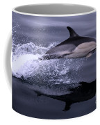 Flying Porpoise Coffee Mug