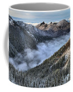 Fog Below Hurricane Coffee Mug