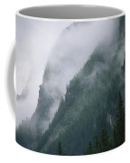 Fog Blankets Spruce Trees  In Yoho Coffee Mug
