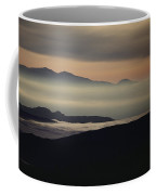 Fog In The Hills At Mammoth Lakes Coffee Mug