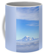 Fog, Mount Rainier, Washington Coffee Mug