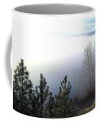 Fog On Wood Lake Coffee Mug