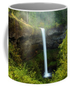 Fog Over The Falls Coffee Mug