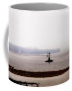 Foggy Delaware River Coffee Mug