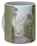 Foggy Lane In St Cirq Coffee Mug