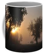 Foggy Morn Street Coffee Mug
