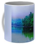 Foggy Mountain Pond Coffee Mug