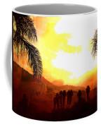 Foggy Palms Coffee Mug